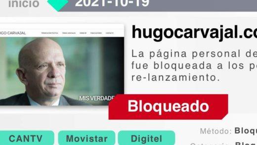 Cantv bloquea la página web del Pollo Carvajal