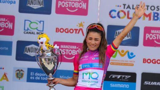 Ciclista venezolana Lilibeth Chacón gana la Vuelta a Colombia